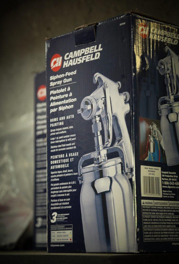 Paint Spray Guns & Accessories