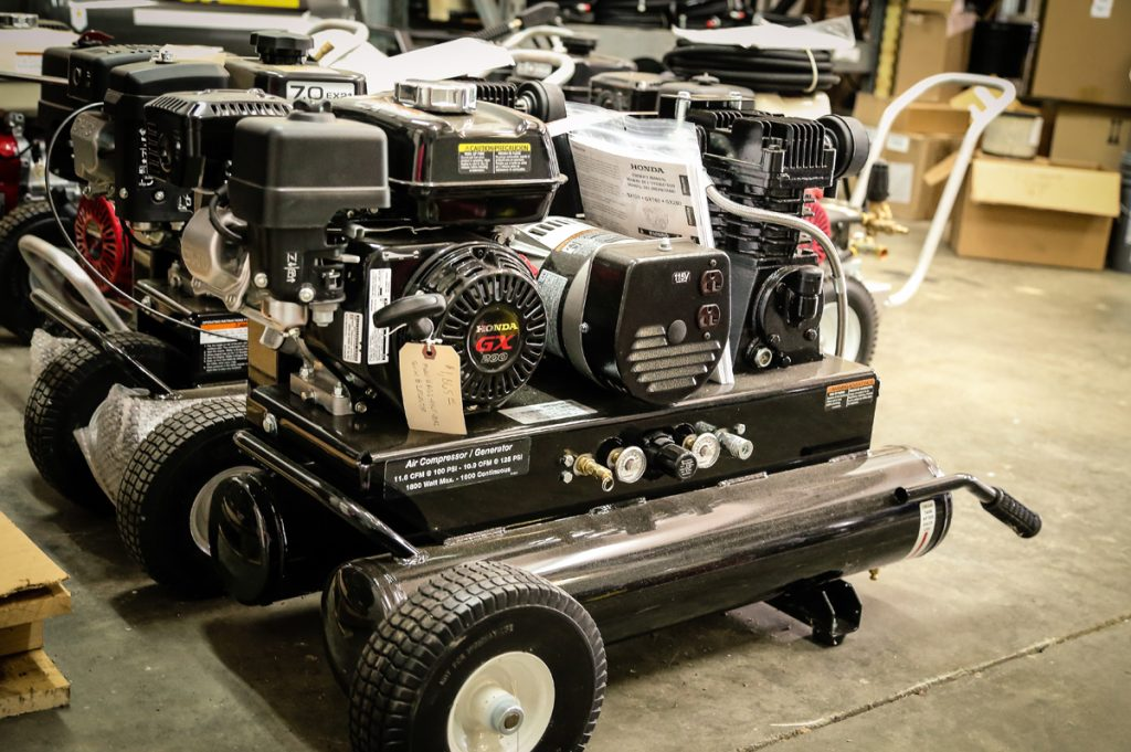 Honda Powered Generator & Compressor Combinations